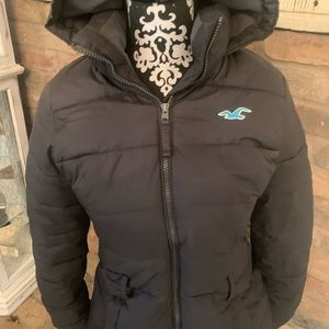 Hollister size Small winter down coat.